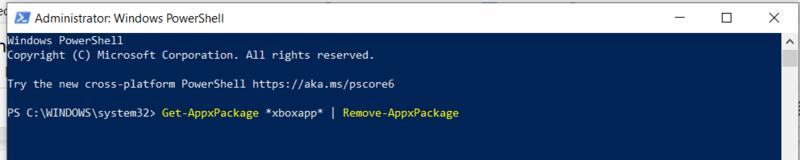 Supprimer Bloatware Windows Supprimer le package d'applications