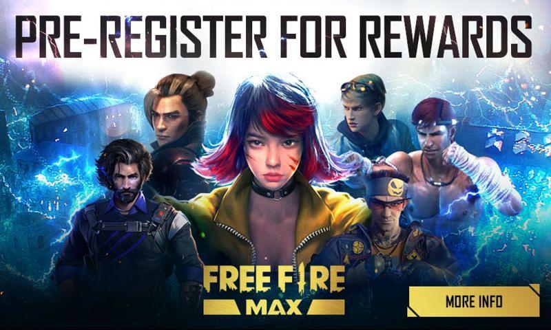Les pré-enregistrements de Free Fire Max viennent de commencer (Image via Free Fire)