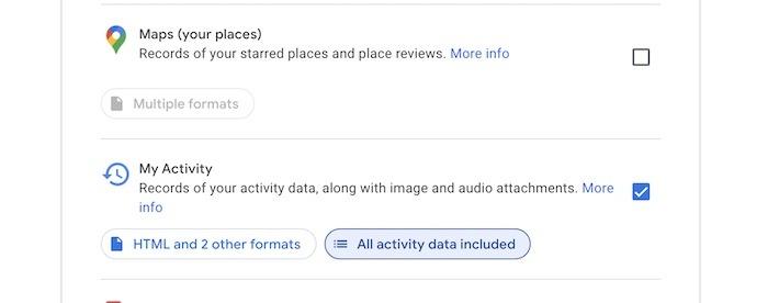 Supprimer les archives de l'historique de recherche Google