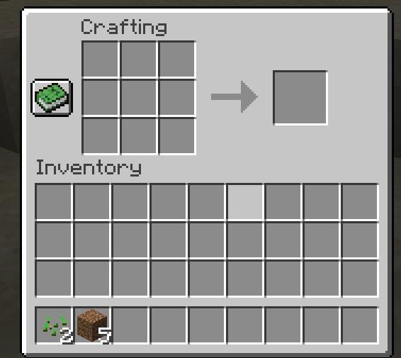 Utiliser l'artisanat dans Minecraft