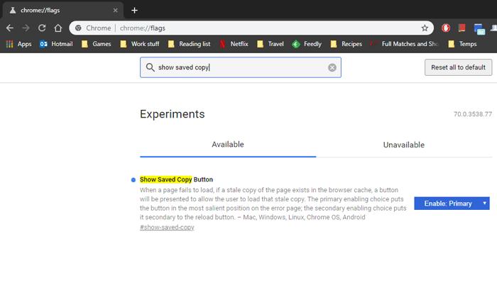 activer-mode-hors-ligne-google-chrome-show-saved-copy