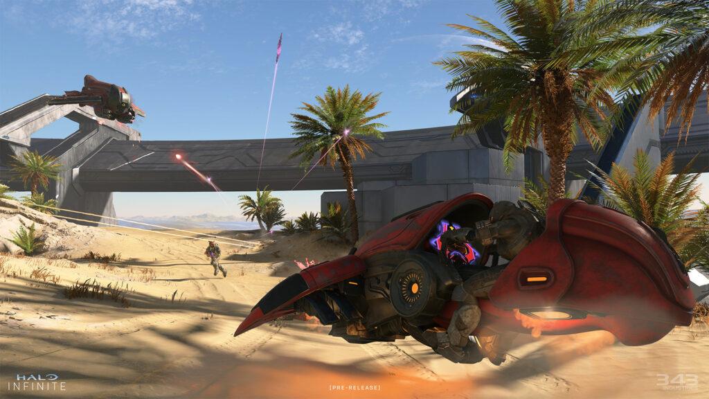 Jeu de véhicules Halo Infinite Ghost