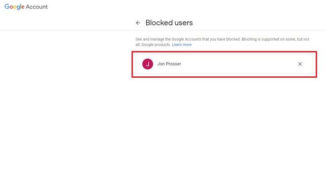 débloquer le compte google des personnes