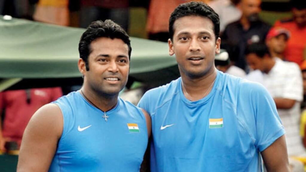Leander Paes et Mahesh Bhupathi