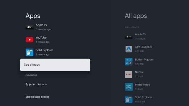 Méthode 2: accéder au Play Store à partir des paramètres
