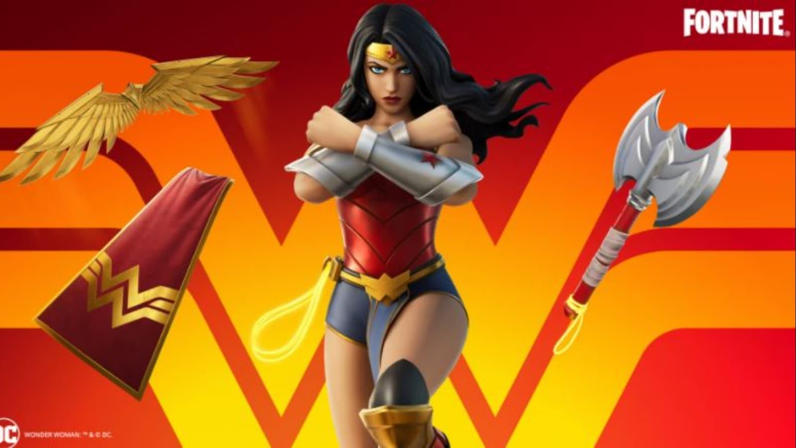 Fortnite Wonder Woman Cup : nouveau skin, règles et plus