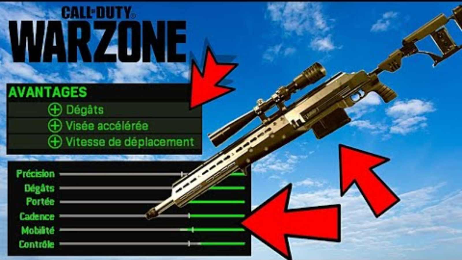Le meilleur chargement M82 Warzone de la saison 4