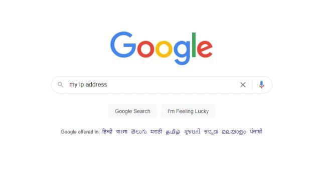 mon adresse ip google