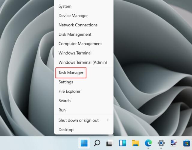 trouver l'adresse IP dans Windows 11 - gestionnaire de tâches - 1