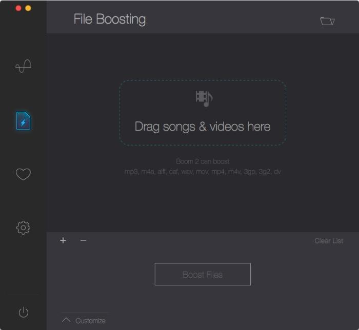 Boom -mte- boost de fichier