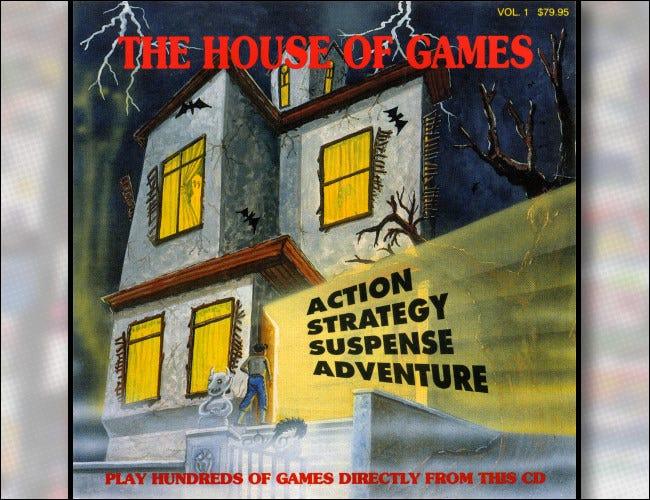 Couverture du CD Shareware de House of Games