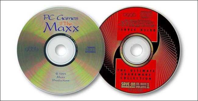 Deux CD shareware