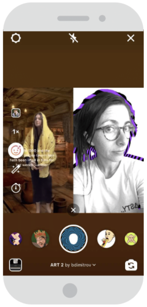 Remixer un Reel existant sur Instagram