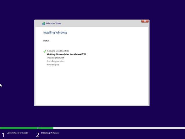 Installer un nouveau Windows 11 à partir d'une clé USB amorçable