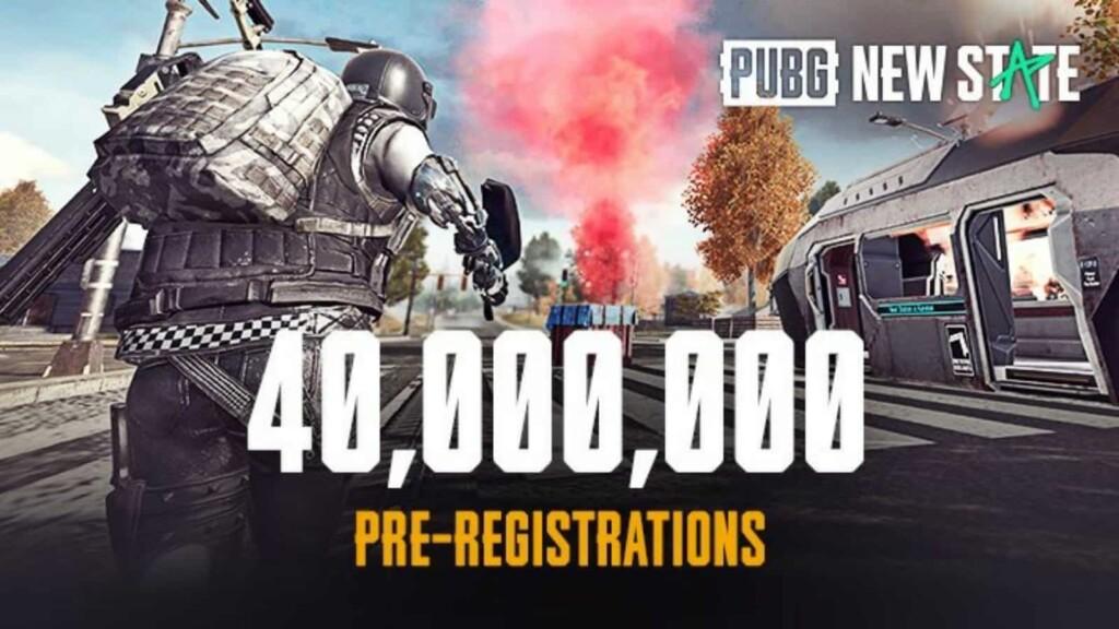 PUBG New State franchit 40 millions de pré-inscriptions sur Play Store et App Store