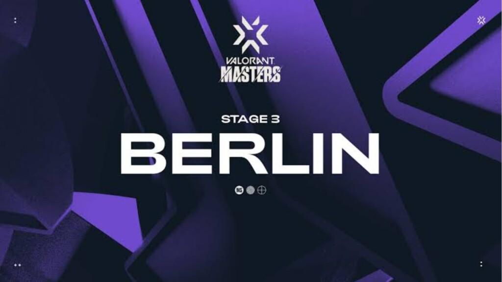 Tous les groupes pour les Masters VCT Stage 3