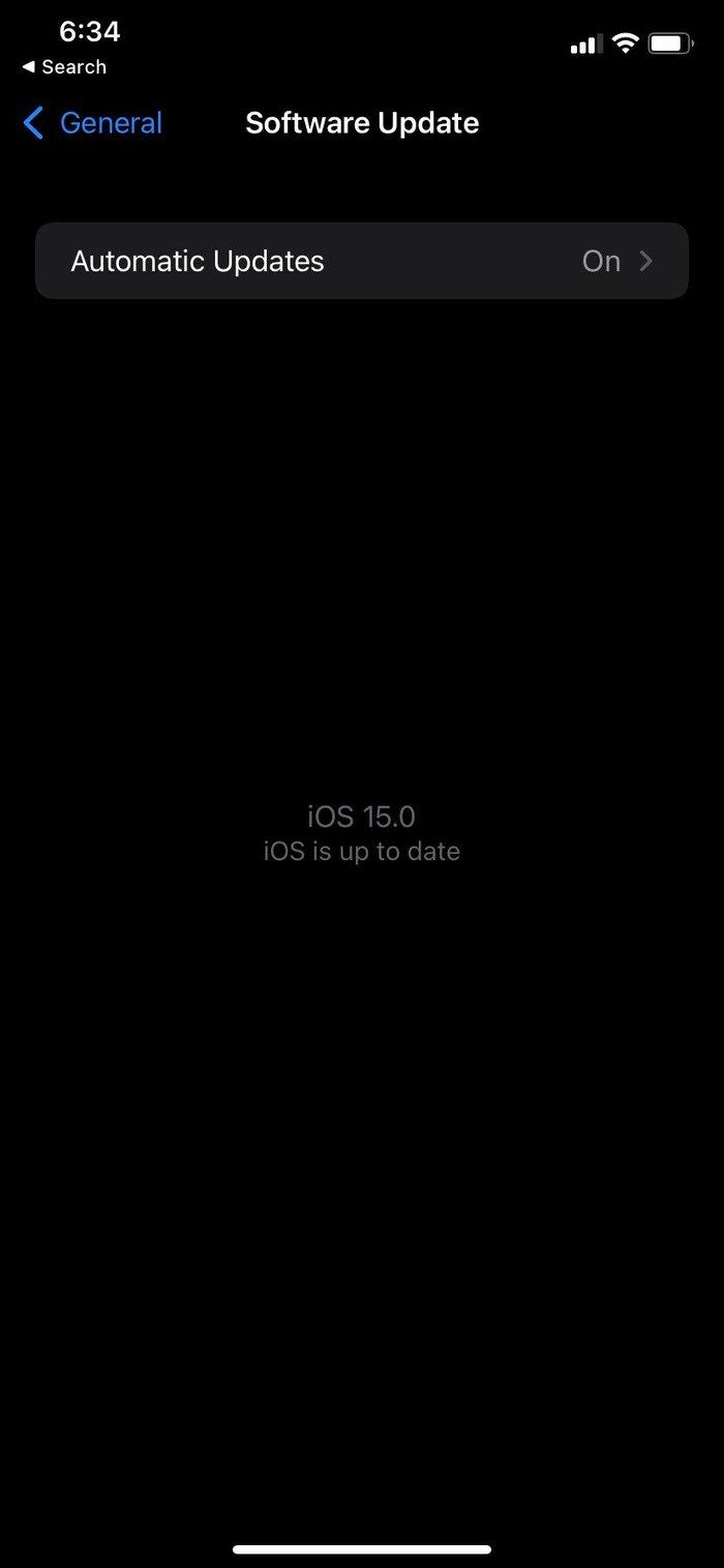 Mettre à jour l'iphone