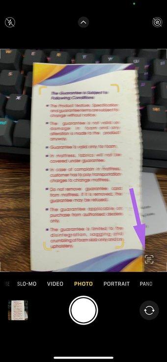 Basculement du texte en direct à huis clos