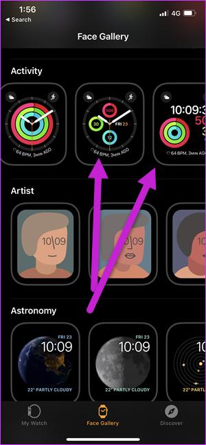 Comment afficher les étapes sur une Apple Watch Face 3
