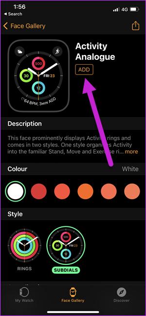 Comment afficher les étapes sur une Apple Watch Face 4