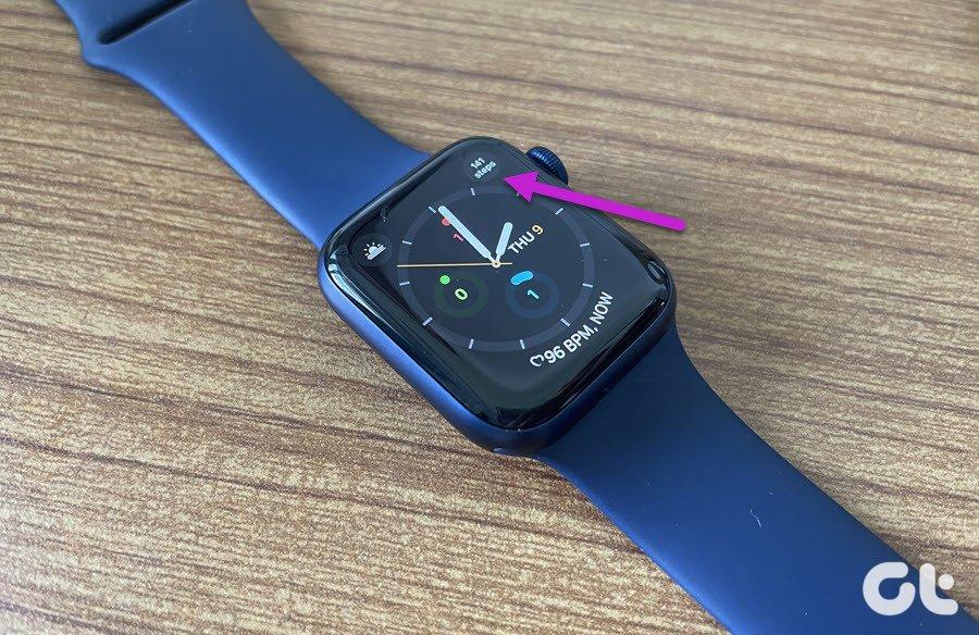 Comment afficher les étapes sur une Apple Watch Face 2