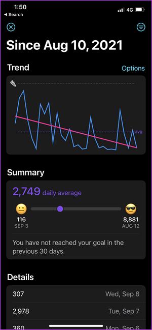 Comment afficher les étapes sur une Apple Watch Face 7