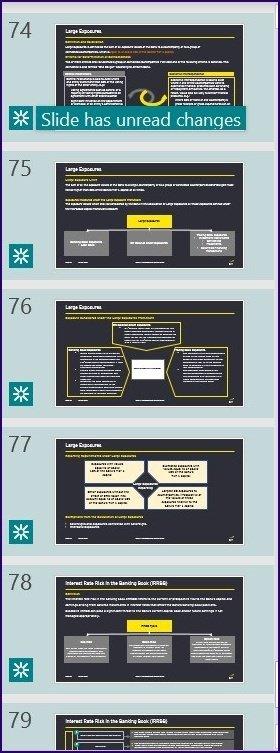 Suivre les modifications sur l'étape 13 de Microsoft PowerPoint