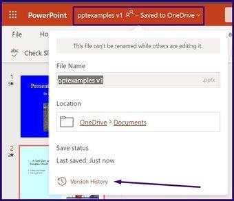 Suivre les modifications sur l'étape 16 de Microsoft PowerPoint