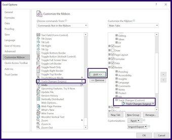 Suivre les modifications sur Microsoft Excel étape 12