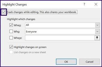 Suivre les modifications sur Microsoft Excel étape 18
