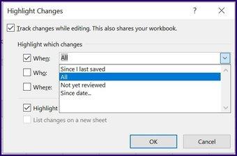 Suivre les modifications sur Microsoft Excel étape 19