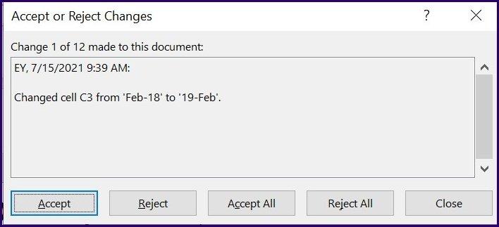 Suivre les modifications sur Microsoft Excel étape 28
