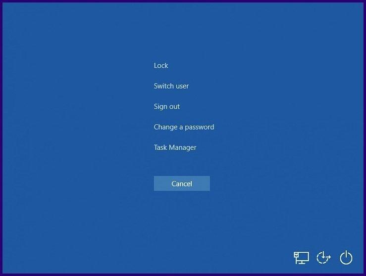 Fermez les applications gelées sur Windows 10 étape 1