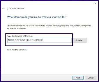 Fermez les applications gelées sur Windows 10 étape 11