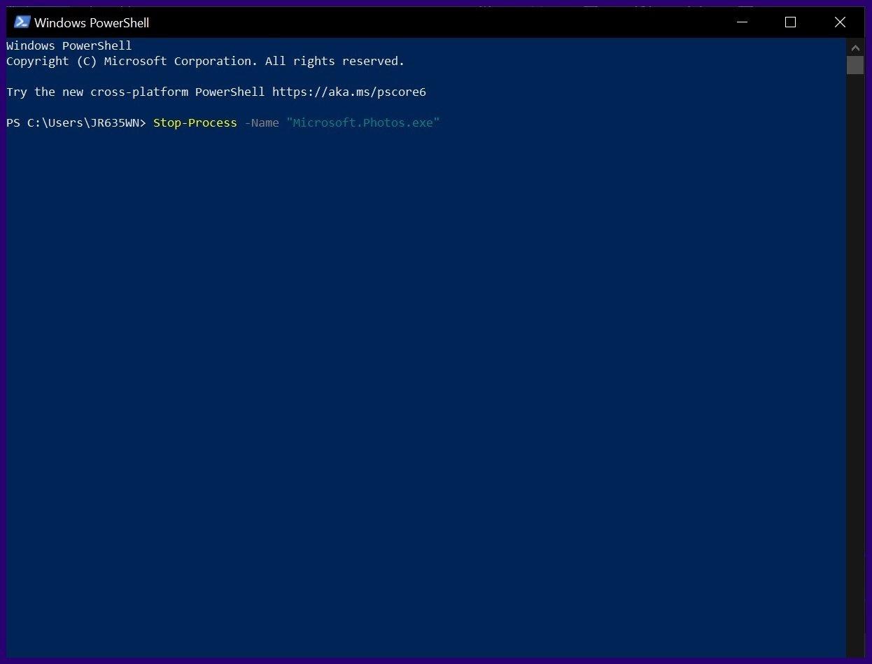 Fermez les applications gelées sur Windows 10 étape 14