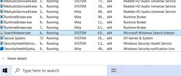 Recherche Windows11 Searchui manquant