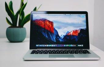 Fond d'écran Mac sur le bureau