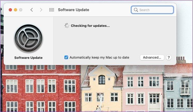 Mac vérifier les mises à jour du système