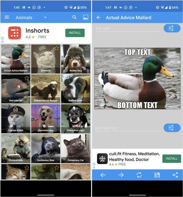Meme Generator Android Meme Creator 2