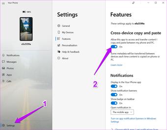 2 Comment synchroniser le presse-papiers entre les appareils Samsung et Windows PC 3