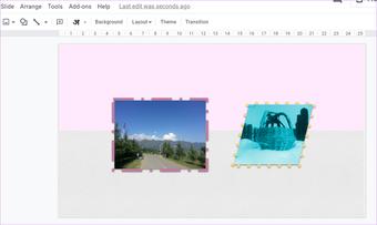 Ajouter une bordure autour de l'image dans Google Slides 2