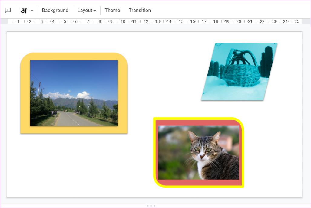 Ajouter une bordure autour de l'image dans Google Slides 8