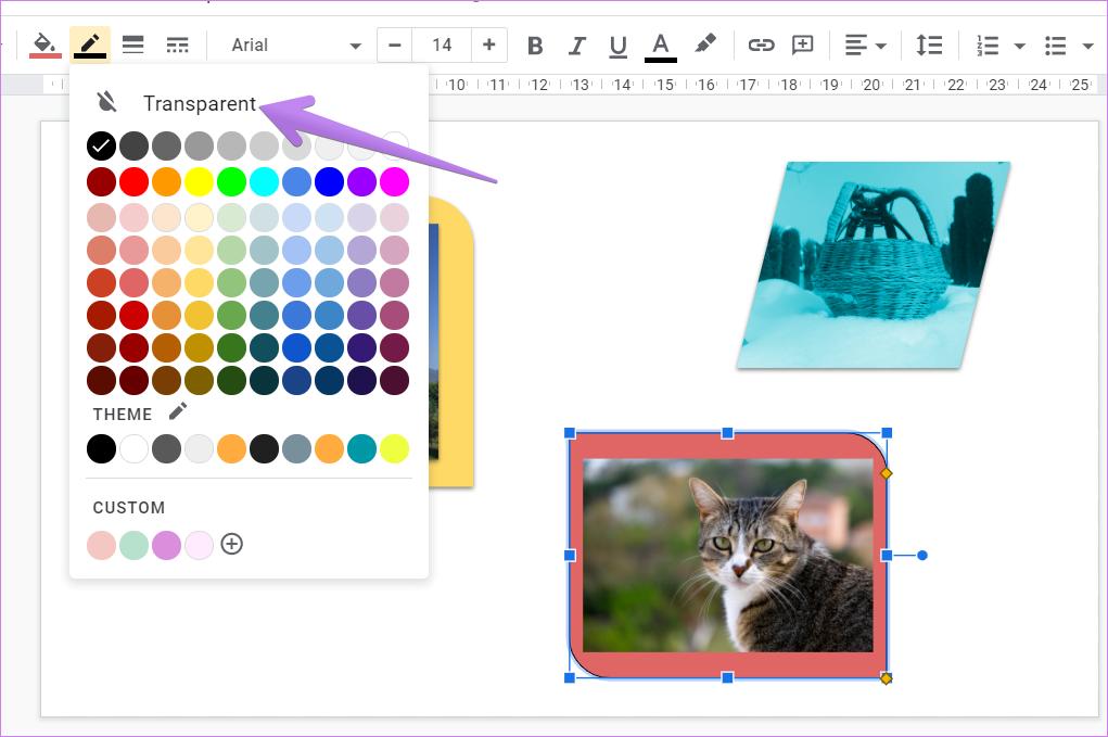 Ajouter une bordure autour de l'image dans Google Slides 10