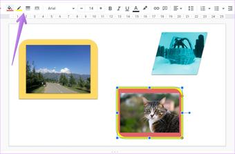 Ajouter une bordure autour de l'image dans Google Slides 9