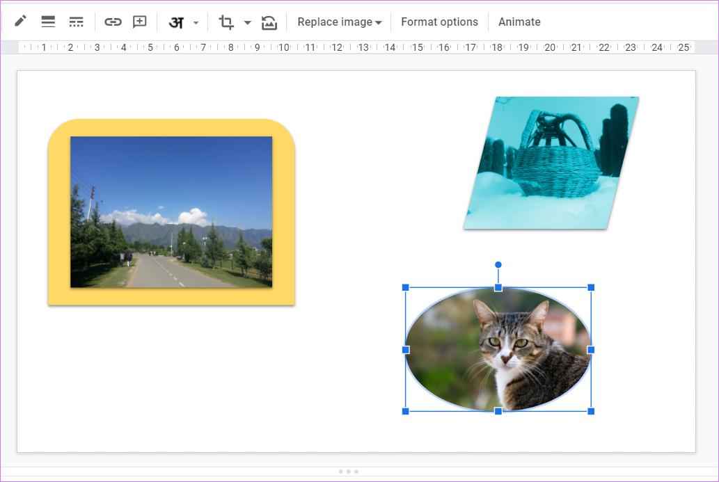Ajouter une bordure autour de l'image dans Google Slides 13