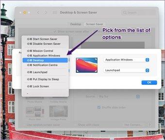 Nouvelles options du menu déroulant Mac