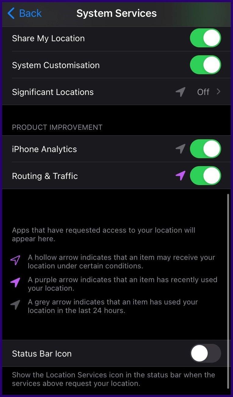 Meilleures caractéristiques de la carte Apple étape 5