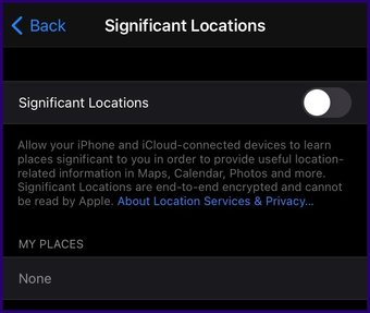 Meilleures caractéristiques de la carte Apple étape 7