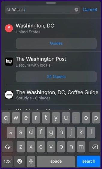 Meilleures caractéristiques de la carte Apple étape 20