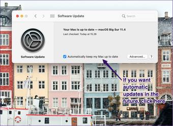 Mise à jour de logiciel Apple